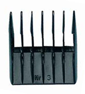 Ermila Plastic Attachment Comb 9 mm # 3